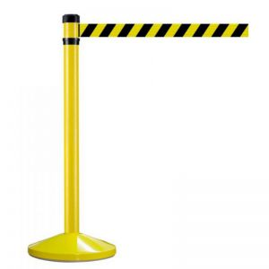 Yellow Hazard Retractable Barrier